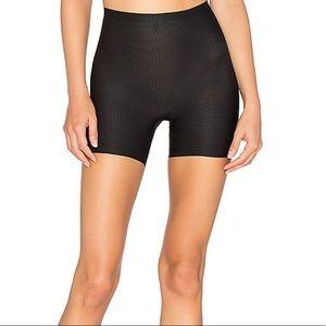SPANX Perforated Shaper Shorts Black Large